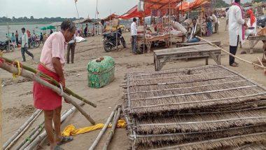 Uttar Pradesh: Water Level of Ganga, Yamuna Rises Amid Heavy Rainfall in Prayagraj