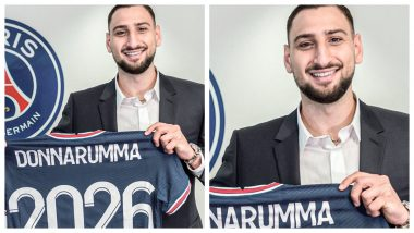 PSG Confirms Gianluigi Donnarumma's Signing, Former AC Milan Goalkeeper Says, 'It's Time To Fight & Win' (Watch Video)
