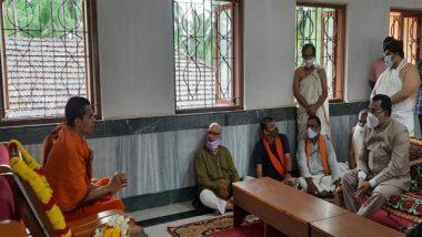 India News | Goa Governor Visits Partagal Math After Demise of Vader Swamiji