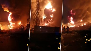 Thailand Factory Blast: 1 Killed, 29 Injured After Explosion Rocks Foam and Plastic Pallet Manufacturing Unit on Outskirts of Bangkok