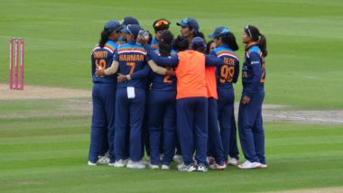 India Women Beat England Women by 8 Runs in 2nd T20I to Level Series 1-1