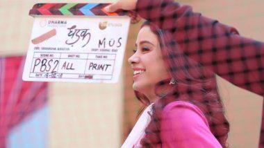 Dhadak Clocks 3 Years: Janhvi Kapoor Shares BTS Moments With Ishaan Khatter and Director Shashank Khaitan (View Pics)