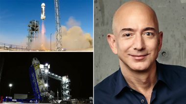 Jeff Bezos to Fly To Space Today Aboard Blue Origin's New Shepard Rocket; Know Details About Suborbital Spaceflight NS-16