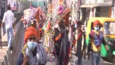 Kanwar Yatra 2021: Haridwar Police Warns of Action Against Those Trying to Enter District For Yatra