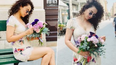 Kangana Ranaut Is Killing It in Her Floral Outfit as She Shares Pics From Her Budapest Outing