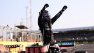 Lewis Hamilton Becomes First F1 Driver to Win 100 GP Races, Outraces Max Verstappen at Russian GP 2021