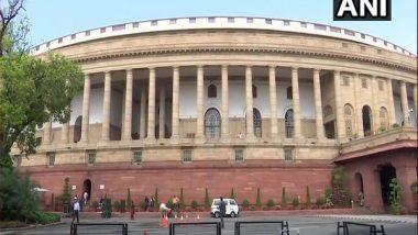India News | Monsoon Session: Lok Sabha, Rajya Sabha Adjourned Till 12 Noon