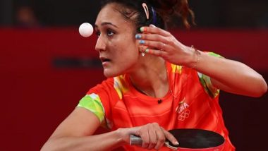 Relive Manika Batra's Compilation of Best Shots Against Sofia Polcanova in Table Tennis Women's Singles Third Round at Tokyo Olympics 2020 (Watch Video)