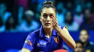 Manika Batra at Tokyo Olympics 2020, Table Tennis Live Streaming Online: Know TV Channel & Telecast Details for Women's Singles Second Round Qualification Coverage