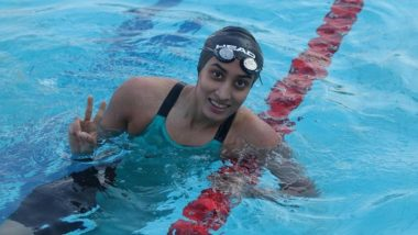 Maana Patel Becomes First Indian Female Swimmer to Qualify for Tokyo Olympics