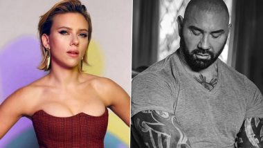 Dave Bautista Reacts To Scarlett Johansson Suing Disney For Black Widow's Simultaneous Release; Says 'Told Them They should've Made Drax Movie'