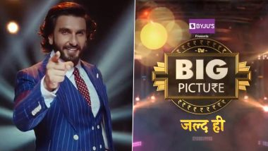 The Big Picture Promo: Ranveer Singh Introduces His Debut TV Show With A Bit Of Bittoo Sharma, Khilji, Gully Boy, Simmba And Bajirao (Watch Video)