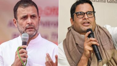 Prashant Kishor Meets Rahul Gandhi, Congress Crisis in Punjab Likely Discussed Ahead of 2022 Assembly Elections in State