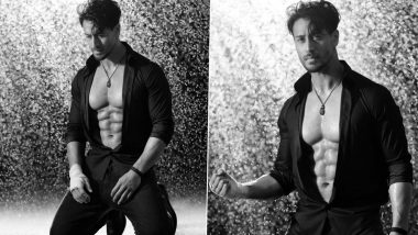 Tiger Shroff Shows Off His Abs in Dabboo Ratnani's 2021 Calendar Shoot (View Pics)