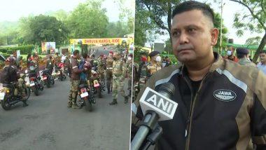Kargil Vijay Diwas 2021: Indian Army Organises Bike Rally From Udhampur to Dras to Commemorate 22nd Anniversary of Kargil Vijay Diwas (See Pics)