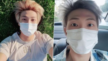 BTS' RM Reacts to Desi ARMY Dedicating Ek Villain's 'Humdard' to Him and as Twitterverse Collects Their Melted Hearts, Adorable Pics of Kim Nam-joon to Brighten Your Monday!