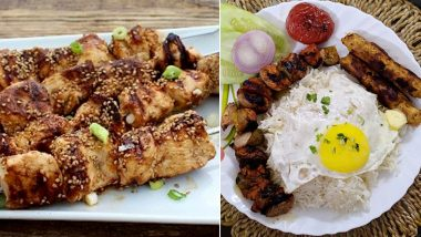 World Kebab Day 2021: From Sesame Chicken Seekh Kebab to Chelow Kebab, 5 Delicious Types of Kebabs to Satisfy When Cravings Attack!