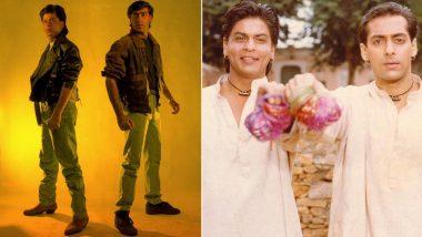 Karan Arjun: Shah Rukh Khan And Ajay Devgn Shot A Poster For The Film Before Salman Khan Stepped In (View Pic)