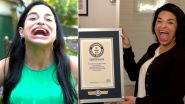 Samantha Ramsdell Wins Guinness World Record After Her Record-Breaking Mouth Gape Went Viral on TikTok
