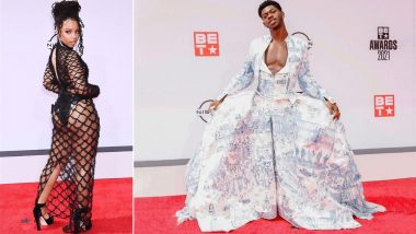 BET Awards 2021 Red Carpet: Lil Nas X, Chloe Bailey and Others Grace the Awards Show in Los Angeles (Watch Video)