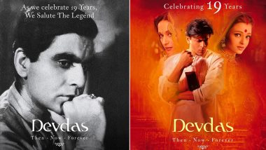 Devdas Turns 19: Madhuri Dixit Pays Ode to Late Dilip Kumar While Commemorating Milestone for Sanjay Leela Bhansali's Directorial