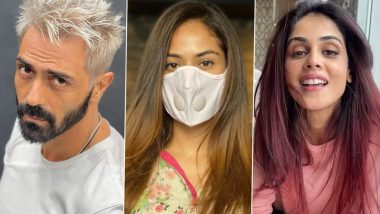 Arjun Rampal's Platinum Blonde Look, Mira Rajput's Light Brown Tresses, Genelia Deshmukh's Cherry-Red Hair - B-Town Celebs Who Impressed Us With Their Makeover