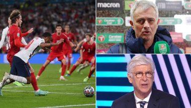 Euro 2020: Jose Mourinho, Arsene Wenger React to England's Controversial Penalty vs Denmark