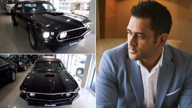 MS Dhoni Adds to His Car Collection by Getting a 1969 Ford Mustang, Check Post