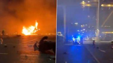 Dubai: Massive Blast at Jebel Ali Port, No Casualties Reported