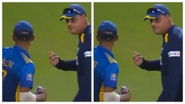 Mickey Arthur & Dasun Shanaka Get into An Ugly Spat With Each Other After India Seals ODI Series Against Sri Lanka; Muttiah Muralitharan & Others React (Watch Video)