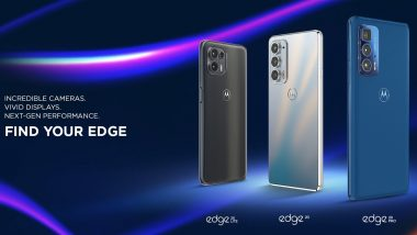 Motorola Edge 20, Edge 20 Pro & Edge 20 Lite Launched; Check Prices, Features & Specifications