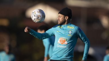 Neymar's Brazil Looks to Clinch Copa America 2021 Title, Sweats it Out Ahead of Final Match Against Argentina (See Pics)