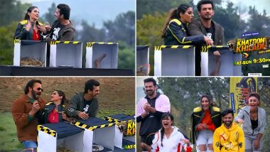 Khatron Ke Khiladi 11: Nikki Tamboli Makes a Comeback After Getting Eliminated in the First Week (Watch Video)