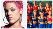 Pink Offers to Pay Fine for Norwegian Women's Beach Handball Team After They Refused to Wear High Cut Bikini Bottoms in Euro 2021