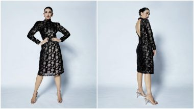 Karisma Kapoor in Her Black Shimmery Dress is a Sight to Behold (View Pics)