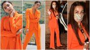 Fashion Faceoff: Kiara Advani or Malaika Arora, Whose Tangerine Pantsuit Will You Pick?