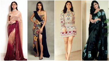 Mrunal Thakur Birthday: A Look at Her Best Fashion Moments