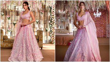 Yo or Hell No? Sara Ali Khan in a Pink Manish Malhotra Lehenga