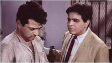 Dharmendra Claims He Never Shared a Scene With Dilip Kumar; This Nostalgic Pic Says Otherwise! (LatestLY Exclusive)