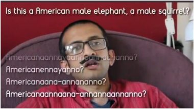 This Viral Video of a YouTuber Twisting 'American Aano' Into Various Malayalam Phrases Will Leave all Malayalis in Splits!