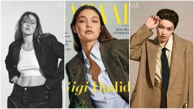 Gigi Hadid Is a Boss Lady On a Roll As The Cover Girl For Harper's Bazaar's New Issue (View Pics)