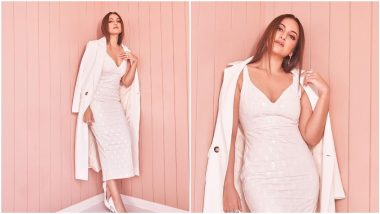 Sonakshi Sinha is All Pretty in White As She Kickstars Bhuj: The Pride of India Promotions (View Pics)