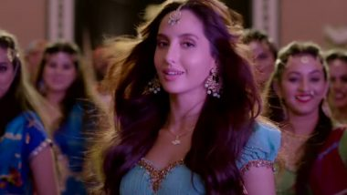 Zaalima Coca Cola Teaser: Nora Fatehi as Desi Dancing Diva in Bhuj The Pride of India Song Raises the Heat with the Beat
