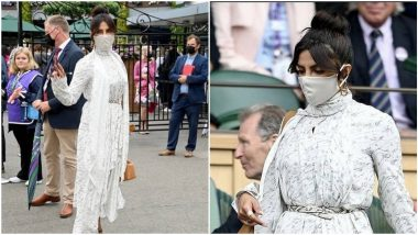 Yo or Hell No? Priyanka Chopra Jonas' White Fendi Dress at Wimbledon 2021