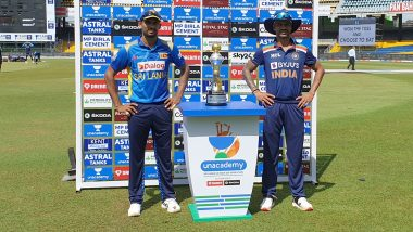 SL 5/0 in 1 Over | (Target 226 Runs): India vs Sri Lanka 3rd ODI Live Score Updates: Team India Posts a Target of 226 Runs