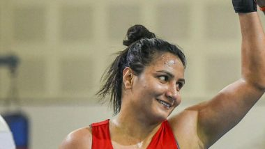 Pooja Rani at Tokyo Olympics 2020, Boxing Live Streaming Online: Know TV Channel & Telecast Details of Women's Quarter-Final Coverage