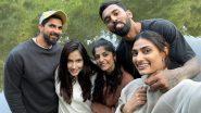 KL Rahul and Rumoured Girlfriend Athiya Shetty Are All Smiles in Ishant Sharma's Wife Pratima Singh Groupfie (View Pic)