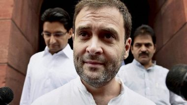 India News | Rahul Gandhi Takes Dig at Centre, Says Writing Truth Enough to Intimidate 'weak Government'
