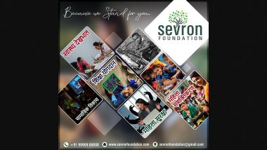 Contribution of Sevron Foundation is Remarkable in Short Span of Time