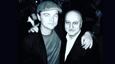 Anupam Kher Recalls Meeting Leonardo DiCaprio at a Los Angeles Event, Says He Was Kind and Affectionate